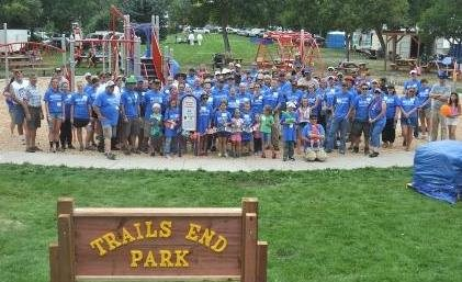 BCBSMT builds playground